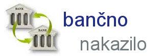 Možnost plačila preko bančnega nakazila