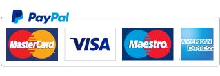 Možnost plačila s karticami preko PayPal